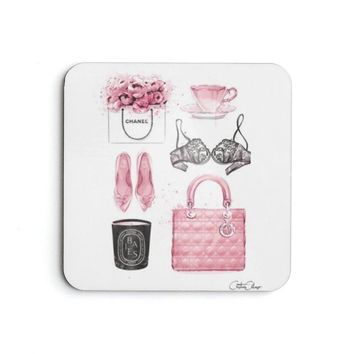 Little Necessaries Illustration Coaster Set