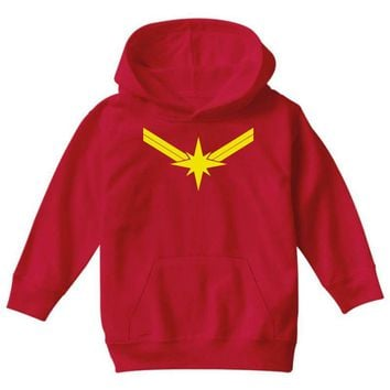 captain marvel Youth Hoodie