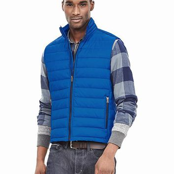 Banana Republic Mens Channel Quilt Vest