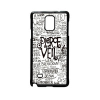 Pierce The Veil Song Lyric for Samsung Galaxy and HTC Case