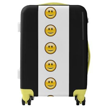 Smiley Face Luggage