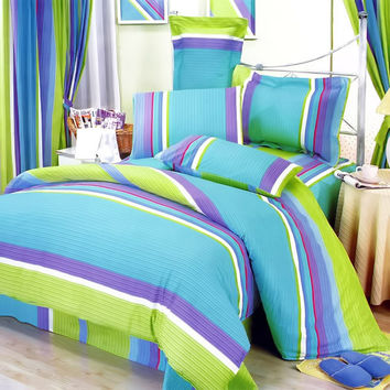 Rhythm of Life Luxury 8PC MEGA Comforter Set Combo 300GSM in King Size