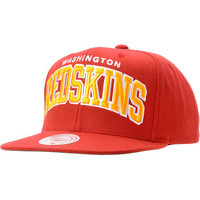 NFL Mitchell And Ness Washington Redskins Arch Snapback Hat