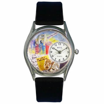 Drama Theater Watch Small Silver Style