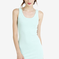 Preston Thick Ribbed Tank Dress
