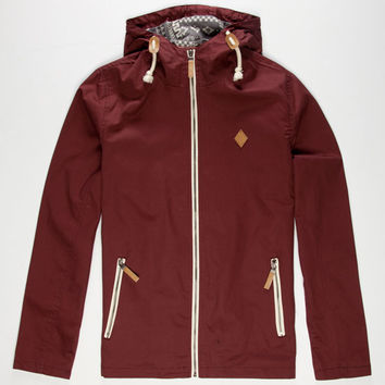 Lira Ignite Mens Jacket Burgundy  In Sizes