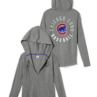Chicago Cubs Oversized Pullover Hoodie