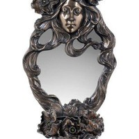 Gift Ideas | Poppy Flowers and Maid Mirror With Candle Holder
