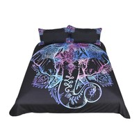 BeddingOutlet Elephant  3pcs Bedding Set with Duvet Cover