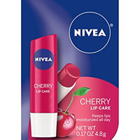 NIVEA Kiss of Cherry Fruity Lip Care, 0.17 Ounce (Pack of 6)