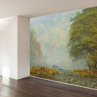 Paul Moore's Fall in Big South Fork National Park Mural wall decal