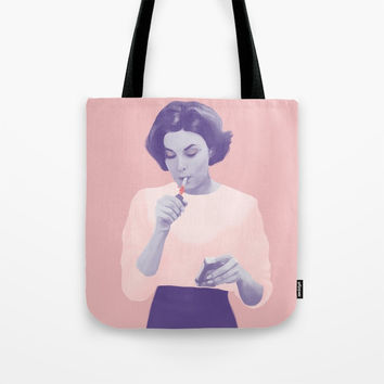 Twin Peaks Tote Bag by paolawiciak