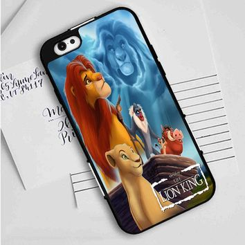 Lion King (movie poster) iPhone Case