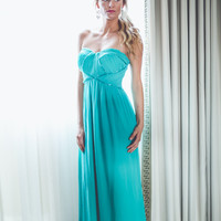 WEB EXCLUSIVE: Lucky You Bridesmaid Dress in Teal