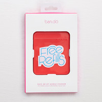 Ban.do Back Me Up! Mobile Charger, Red