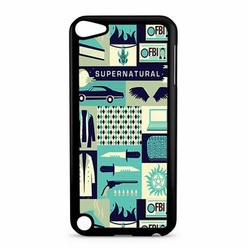 Supernatural Collage Art 8 iPod Touch 5 Case