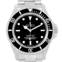 Rolex Submariner No Date 4 Liner 40mm Stainless Steel Mens Watch 14060