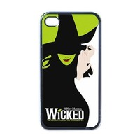 Wicked Broadway Musical Logo iPhone 5 Case Cover 459