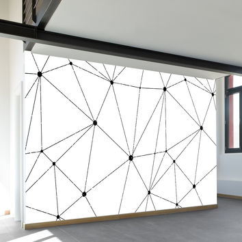 Technology Vector Wall Mural