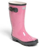 Toddler Girl's Hatley 'Orchid Lily' Rain Boot