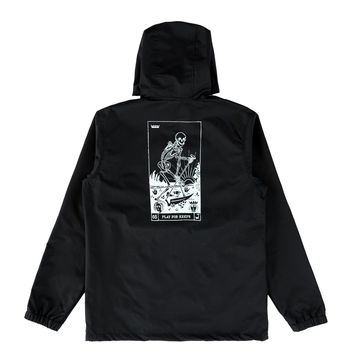 Play For Keeps Anorak Black