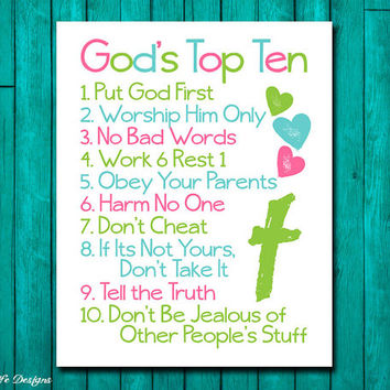 Best baptism art products on wanelo for Bible verses for kids rooms