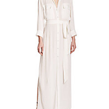 L'AGENCE - Alani Beach Maxi Dress - Saks Fifth Avenue Mobile