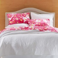 Lilly Pulitzer® Scarlet Begonias Percale Bedding