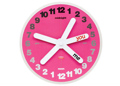 GiftGenius: Peter Stathis Knowhere You & Me Clock for long distance relationships