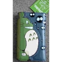 My Neighbor TOTORO LONG Green Wallet ~Multi-Slots