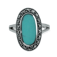 Turquiose Luck Ring on Sale for $34.99 at HippieShop.com