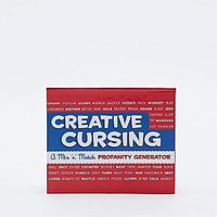 Creative Cursing Book - Urban Outfitters