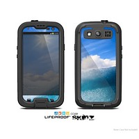 The Sunny Day Waves Skin For The Samsung Galaxy S3 LifeProof Case