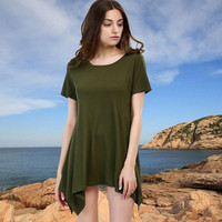 2017 Trending Fashion Women Short Sleeve Top T-Shirt _ 11667