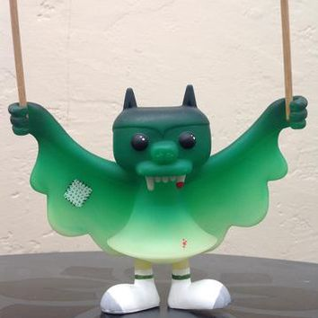 Lulubell Toys - Jim Sock Hero Steven the Bat custom by Scnebbs