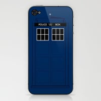 Doctor Who - The Doctor is in..... iPhone & iPod Skin by Adam James | Society6