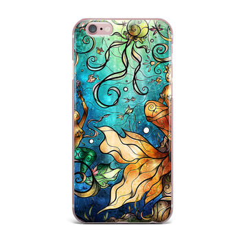 "Mandie Manzano ""Under the Sea"" Mermaids iPhone Case"