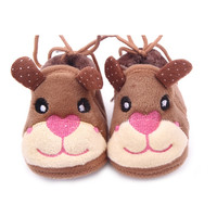 Lovely Baby Toddler Girl Slip-On Boy Puppy Snow Warm Fleece Crib Shoes Boots PY5 SM6