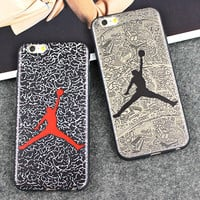 Basketball Michael Jordan Silicon Silicone Back Cover Soft Fundas Capinha Coque Case For Apple iPhone 7 Plus Case iPhone7 7Plus