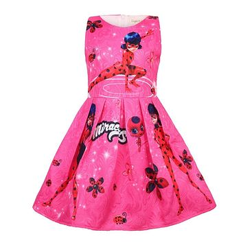 Miraculous Ladybug Dress For Girls Toddlers