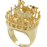 Goat for the Gold Ring | ModCloth.com