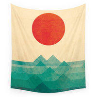 Society6 The Ocean, The Sea, The Wave Wall Tapestry