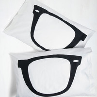 Quirky Shuteye to Eye Pillowcase Set by ModCloth