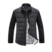 West Street Haku [2 COLORS] Men's Light Weight Solid Thin Jean Down Jacket