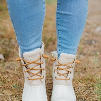 Sperry Saltwater Duckboot - Ivory