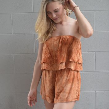 Won and Only Tie Dye Romper