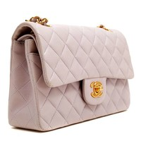 Chanel Classic Lambskin Bag in Lavender