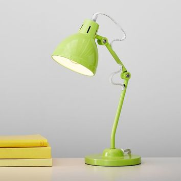 Neon Green Penn Task Lamp