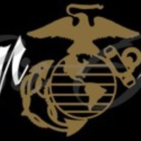 Semper Fidelis with EGA Vinyl Decal Sticker - Eagle Globe Anchor USMC