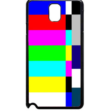 Color Tv Bars No Signal For Samsung Galaxy Note 3 Case ***